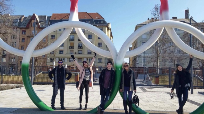 Olympic Rings Budapest