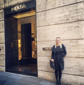 The original Prada store